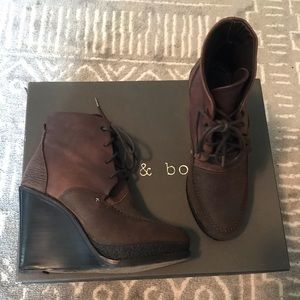 Rag & Bone Wedge Ankle Boot Size 6